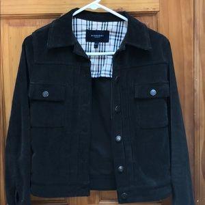 Corduroy Burberry Jacket